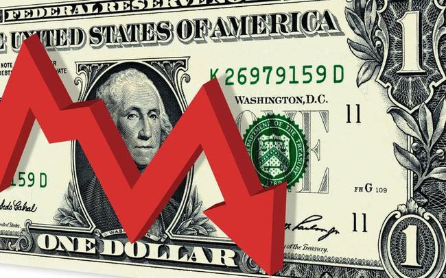 USD giảm tuần thứ 4 liên tiếp