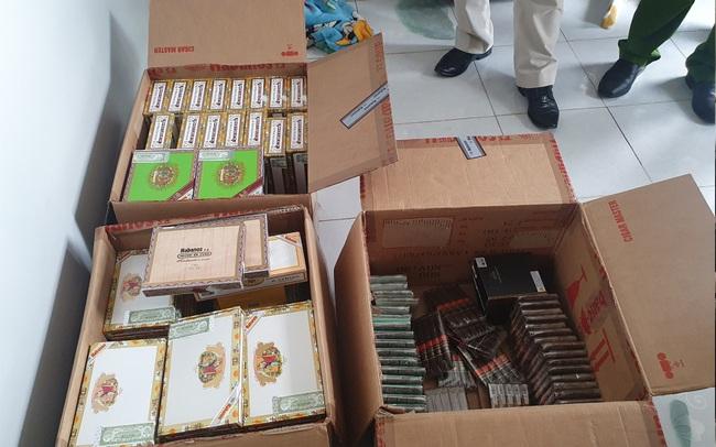 Phát hiện tiếp viên hàng không nhập lậu hơn 1 tạ xì gà về Hà Nội tiêu thụ