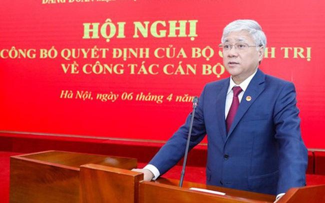 Bộ Chính trị chỉ định Bí thư Trung ương Đảng - Bộ trưởng Đỗ Văn Chiến giữ chức vụ mới