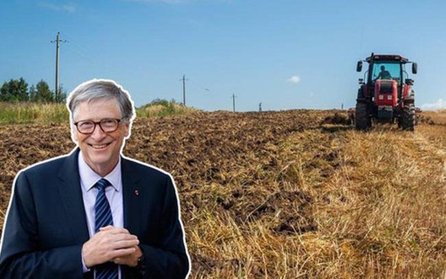 """Bill Gates lần đầu tiết lộ lý do mình trở thành """"nông dân"""" lớn nhất nước Mỹ"""