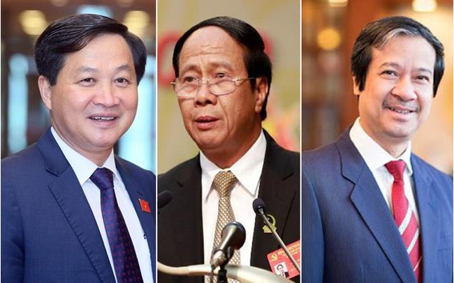 Ông Lê Minh Khái, Lê Văn Thành được đề cử bổ nhiệm Phó thủ tướng, Giám đốc ĐHQG Hà Nội được đề cử thay ông Phùng Xuân Nhạ