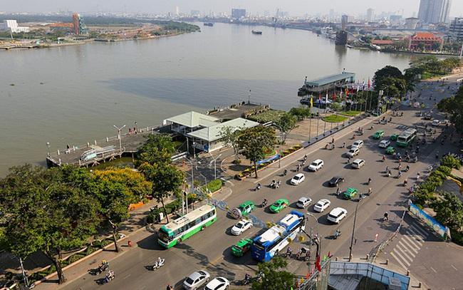 Tp.HCM: Cải tạo hơn 8.000 m2 ở công viên bến Bạch Đằng