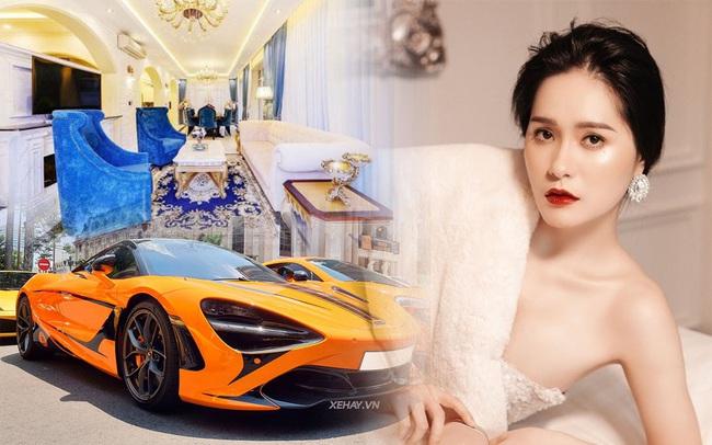 Nữ ca sĩ Di Băng giàu có tới mức nào mà chịu chi 140 tỷ VNĐ để mời NTK Thái Công tân trang nhà: Được chồng đại gia chiều không tiếc thứ gì, biệt thự lộng lẫy như cung điện