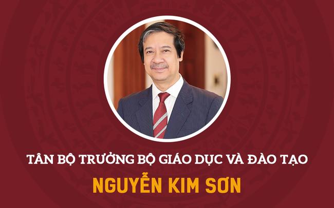 Chân dung tân Bộ trưởng Giáo dục và Đào tạo Nguyễn Kim Sơn