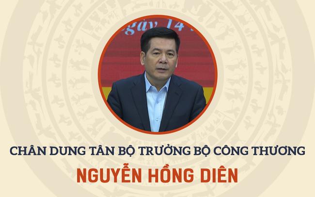 Infographic: Sự nghiệp Bộ trưởng Bộ Công Thương Nguyễn Hồng Diên