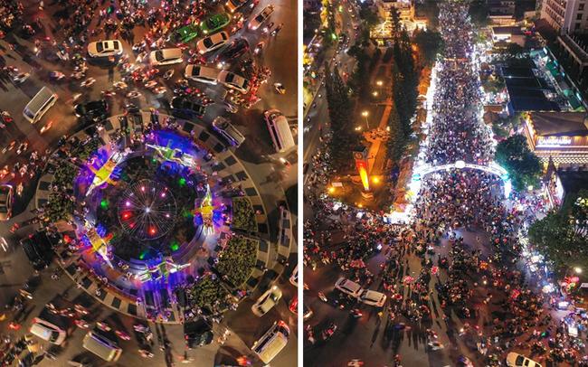 """Toát mồ hôi với khung cảnh Đà Lạt nhìn từ trên cao 360 độ tối qua: Đi du lịch hay là """"hành xác"""" nhau?"""