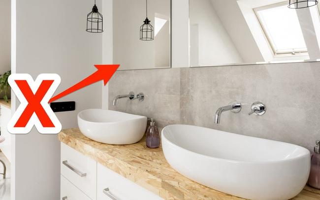 7 lỗi thiết kế ngớ ngẩn trong phòng tắm mà nhiều người mắc phải