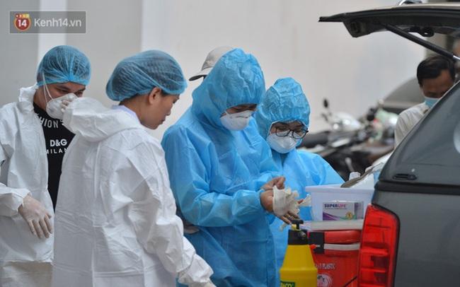 Nóng: 2 F1 của cặp vợ chồng giám đốc ở Thanh Xuân đã dương tính SARS-CoV-2
