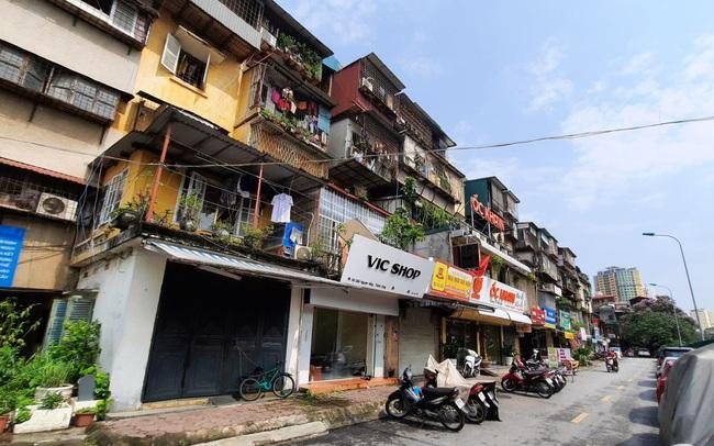 Hà Nội tổng rà soát các chung cư cũ