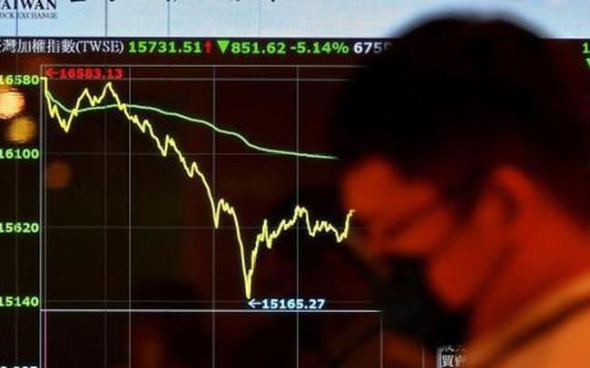 Chứng khoán Đài Loan 'rơi tự do' trong 3 phiên liên tiếp, nhà đầu tư náo loạn vì nhận được margin call