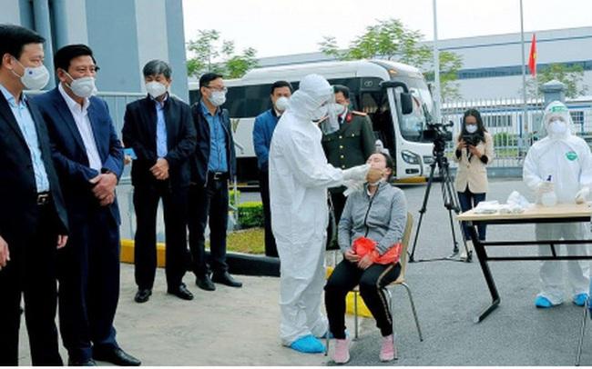 Dịch bệnh tại Bắc Giang: Không đóng cửa các cụm công nghiệp, phòng dịch nghiêm ngặt