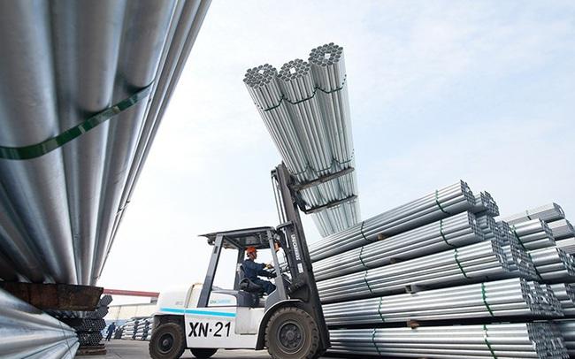 Xuất khẩu sắt thép tăng đột biến