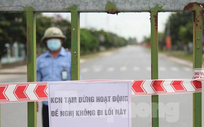 Hình ảnh đóng cửa các khu công nghiệp ở tỉnh Bắc Giang