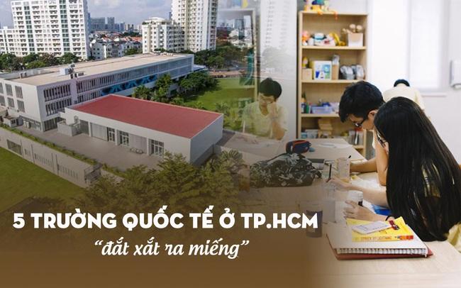"""5 trường quốc tế có mức học phí 2021-2022 cao """"ngất ngưởng"""" tại TP. HCM: Phụ huynh phải trả trên dưới nửa tỷ đồng cho con đi học lớp 1"""