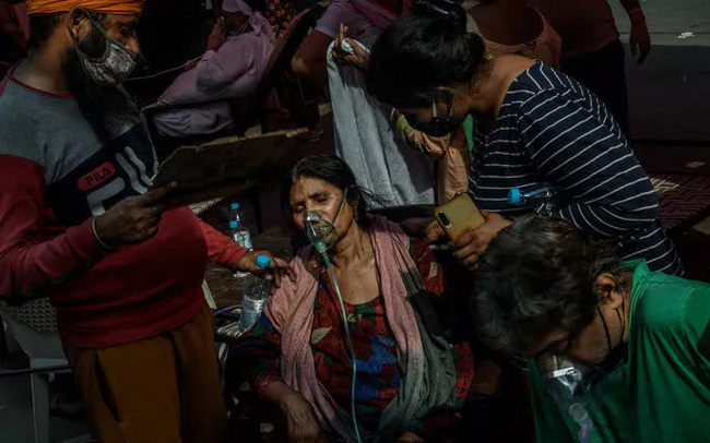 """Covid-19: Ớn lạnh """"ngày chết chóc nhất thế giới"""" tại Ấn Độ"""