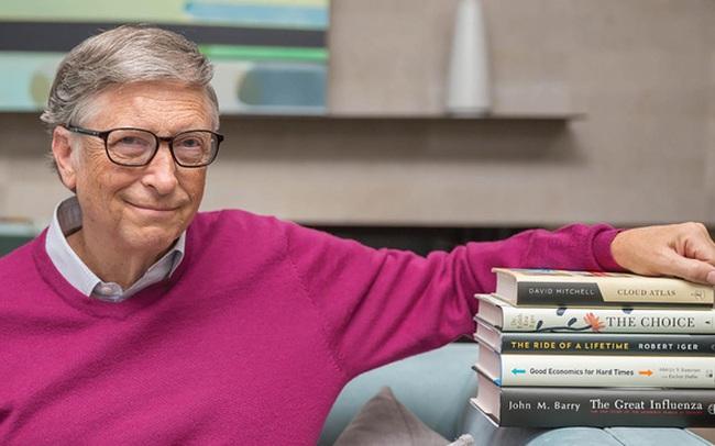 4 cuốn sách Bill Gates đã đọc 2 lần, trong đó có một cuốn viết về Việt Nam
