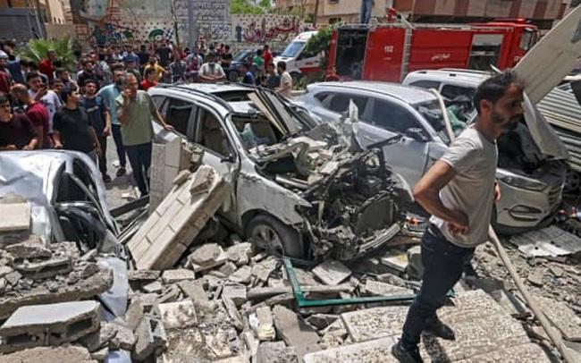 Sau 11 ngày đẫm máu, xung đột trên Dải Gaza tạm lắng xuống