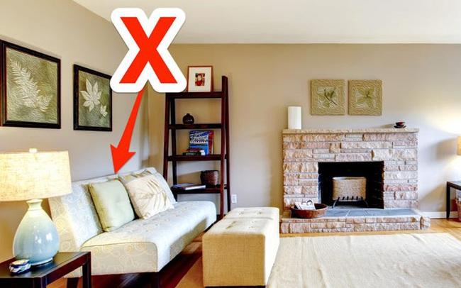 Những sai lầm mà bạn rất hay gặp phải khi mua sắm nội thất phòng khách