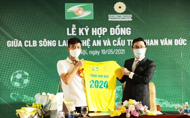 Tân Long - Nhà tài trợ mới của Sông Lam Nghệ An: Công ty nông nghiệp tỷ đô kín tiếng, cũng đang hiện diện trên áo đấu CLB Hà Nội