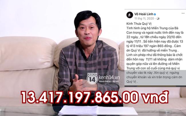 Clip NS Hoài Linh đích thân lên tiếng: 13,7 tỷ cả lãi và trừ khoản đã chi. Sự nghiệp 30 năm đánh đổi mười mấy tỷ, quý vị cho ý kiến thử là có nên không?