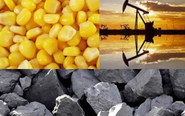 Thị trường ngày 25/5: Giá dầu tăng mạnh, thép giảm sâu, ngô và lúa mì đi xuống