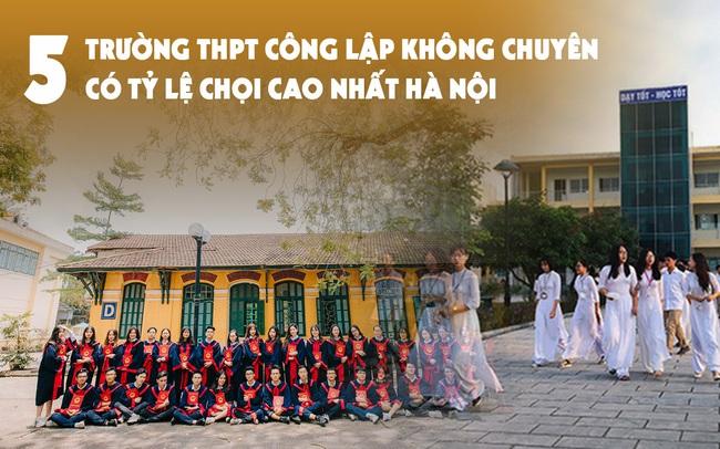 5 trường THPT công lập không chuyên có tỷ lệ chọi vào lớp 10 cao nhất Hà Nội: Chất lượng ra sao mà bao nhiêu năm nay học sinh cạnh tranh khốc liệt để giành suất?