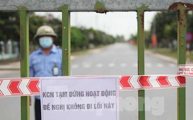 Bắc Giang thí điểm cho khu công nghiệp hoạt động trở lại trong 3 ngày tới