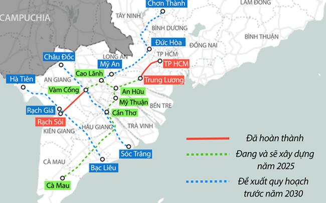 Đề xuất hơn 6.000 tỷ đồng đầu tư cao tốc nối Tiền Giang – Đồng Tháp