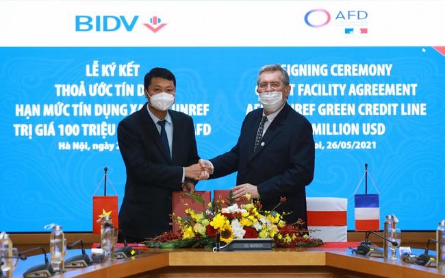 Cơ quan phát triển Pháp cho BIDV vay ưu đãi 100 triệu USD, không cần bảo lãnh Chính phủ