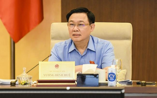 Chủ tịch Quốc hội Vương Đình Huệ: Tỷ lệ cử tri đi bầu đạt 99,57%, đã bầu đủ 500 đại biểu Quốc hội khóa XV