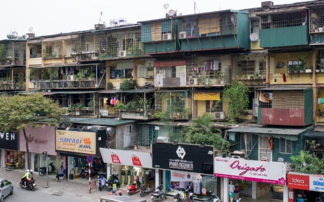 Bộ xây dựng đang trình dự thảo sửa đổi quy định về cải tạp chung cư cũ