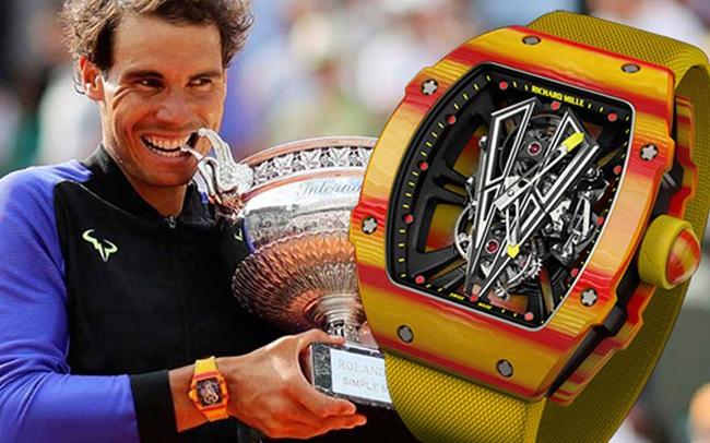 """Siêu phẩm đồng hồ RM 27-03 gắn liền với """"vua đất nện"""" Rafael Nadal: Richard Mille chỉ sản xuất giới hạn 50 chiếc, Việt Nam cũng có đại gia bỏ 30 tỷ VNĐ để tậu về"""