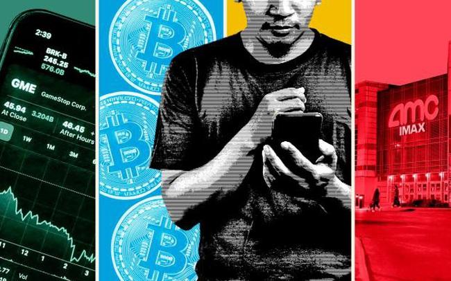 'Lực lượng' nhà đầu tư mới xuất hiện trên TTCK Mỹ: Càn quét mọi nơi từ tiền số cho đến cổ phiếu meme