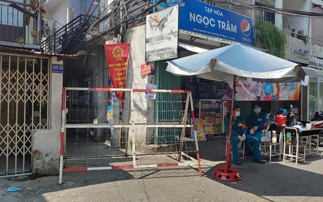 TP.HCM: Khu Mả Lạng, quận 1 lại bị phong tỏa vì phát hiện thêm ca dương tính SARS-CoV-2