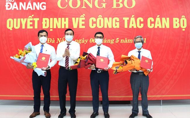 Đà Nẵng bổ nhiệm hàng loạt lãnh đạo chủ chốt cấp Sở