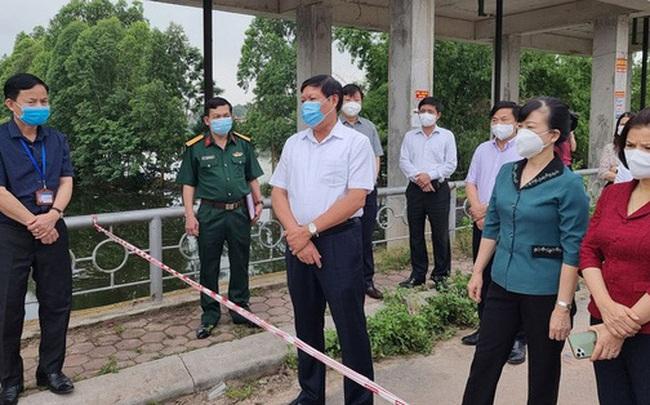 Thứ trưởng Bộ Y tế: Bắc Ninh có 1.000 F1, dứt khoát phải cách ly tập trung