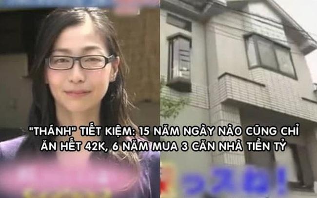 Cô gái tiết kiệm nhất Nhật Bản: 15 năm ngày nào cũng chỉ ăn hết 42.000 đồng, 6 năm mua 3 căn nhà tiền tỷ