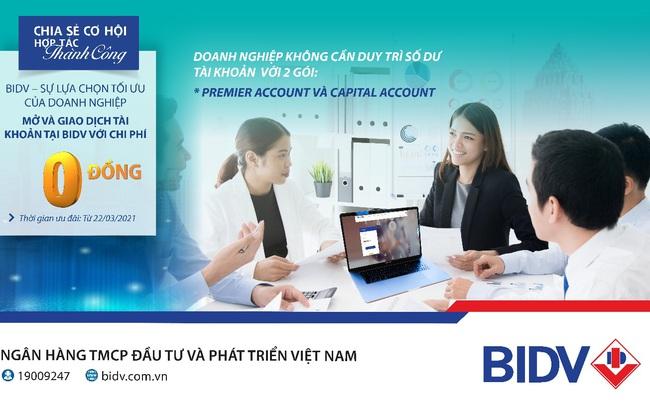 Cơ hội lớn cho doanh nghiệp khi giao dịch tại BIDV