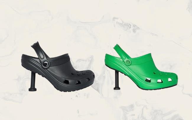 """Thương hiệu xa xỉ Balenciaga ra mắt mẫu giày crocs cao gót mới, nhiều người chê """"thật kỳ dị và thảm họa"""""""