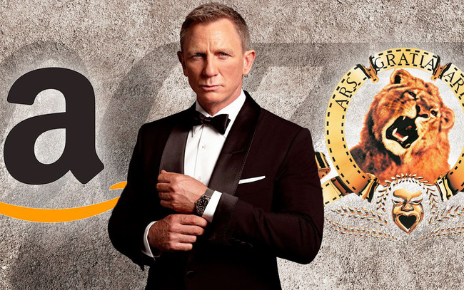 Vì đâu Amazon chi tới 8 tỷ USD để sở hữu nhà sản xuất phim James Bond?