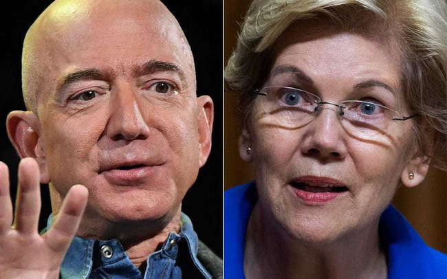 'Jeff Bezos cười vào mặt tất cả những người Mỹ đóng thuế'