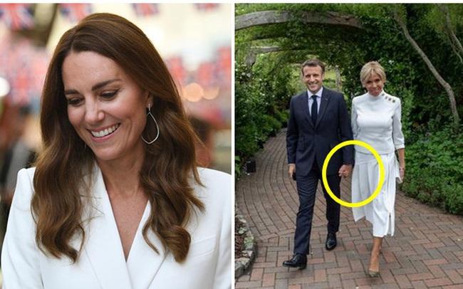 Không phải Công nương Kate, Đệ nhất phu nhân Pháp mới là người chiếm spotlight với vẻ ngoài hoàn hảo cùng một chi tiết đáng ghen tỵ