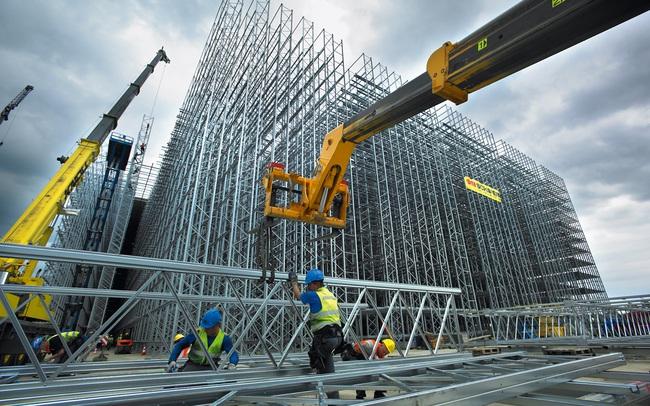 """Các doanh nghiệp xây dựng lao đao vì cơn """"bão giá thép"""""""
