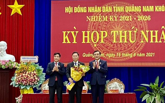 Ông Lê Trí Thanh tái cử Chủ tịch UBND tỉnh Quảng Nam