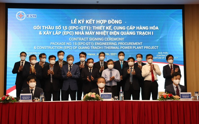 """Lộ diện 3 """"ông lớn"""" trúng gói thầu 30.236 tỉ đồng làm nhiệt điện Quảng Trạch I"""