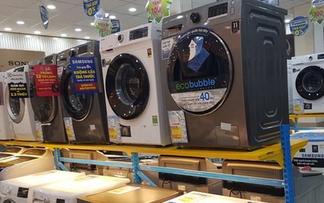Máy giặt đời mới giảm giá sốc 50%, nhiều mẫu rẻ khó tin chỉ 6,4 triệu đồng