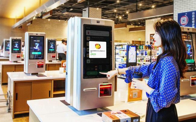 """Đây là siêu thị trong mơ của tỷ phú Jack Ma: robot phục vụ, thanh toán bằng nhận diện khuôn mặt, mua hàng """"sướng như vua"""""""