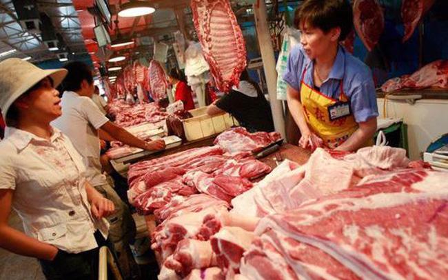 Giá thịt lợn thế giới lao dốc theo giá tại thị trường Trung Quốc