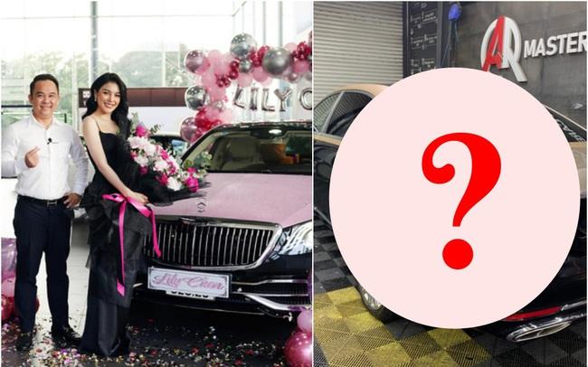 """Hai siêu xe """"hồng đen"""" thị phi của showbiz Việt: Rolls-Royce vẫn im lìm, Maybach quyết đổi màu cho phong thủy hơn"""