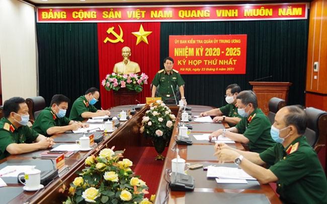 Công bố nhân sự Ủy ban Kiểm tra Quân ủy Trung ương